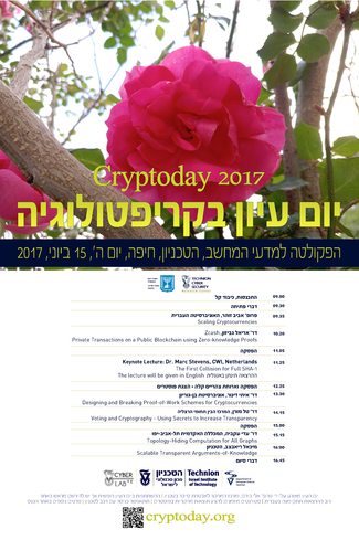 CRYPTODAY 2017