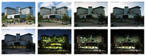 See Taub building in different hours of the day in our Grades login screen