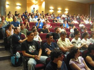 CS starts new semester with an orientation day for new students