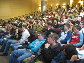 CS open day draws hundreds of prospective students