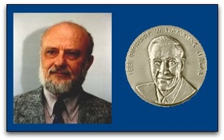 Prof. Abraham Lempel receives the 2007 IEEE Richard W. Hamming Medal