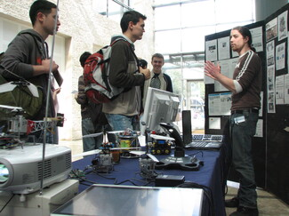 Hundreds of visitors at faculty during Technion's open day