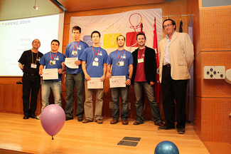 "CS ""Techies"" Team Wins A SILVER Medal  2009 International Programming Contest"