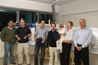 Amdocs Prize to 2009 Best Project and Programming Contests Winners