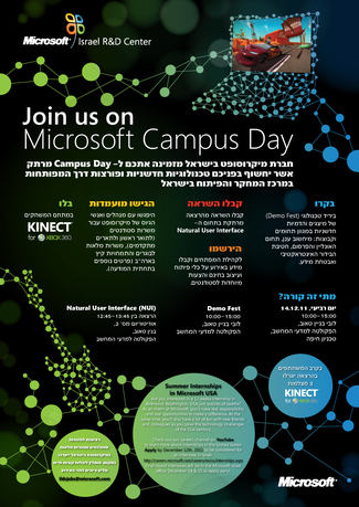 Microsoft Campus Day at the CS Faculty