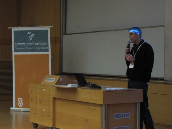 Open Day  2012 in Technion Computer Science, photo 8