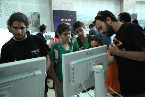 Technion and CS 2012 Researchers Night, photo 215