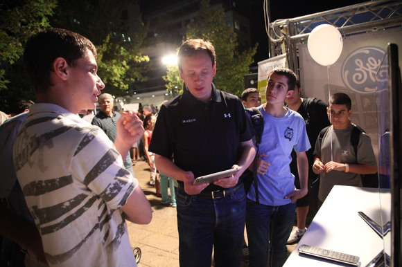 Technion and CS 2012 Researchers Night, photo 351