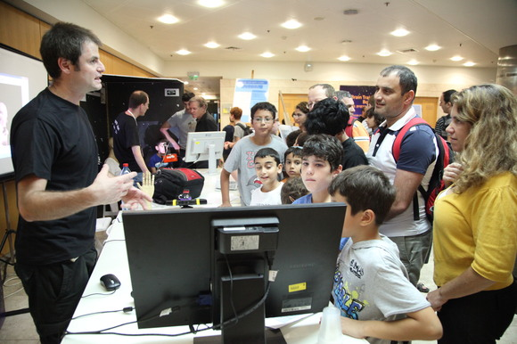 Technion and CS 2012 Researchers Night, photo 371