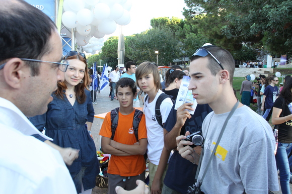 Technion and CS 2012 Researchers Night, photo 739