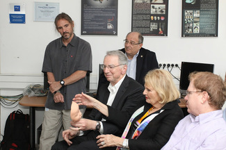 Qualcomm Co-Founder, Dr. Irwin M. Jacobs, Visits CS