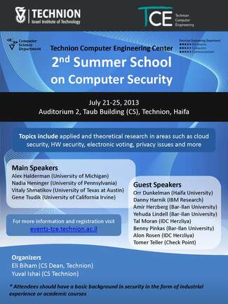 2nd TCE Summer School