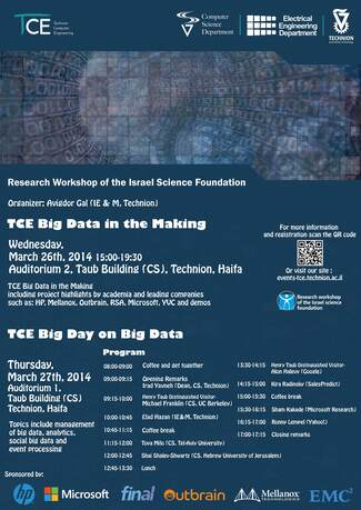 TCE Big Day on Big Data