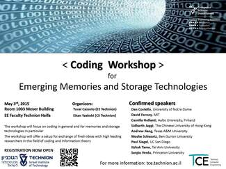 Workshop on Coding for Emerging Memories and Storage Technologies