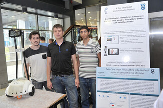 Technion [CS] Students Develoed A Robot to Assist Elderly