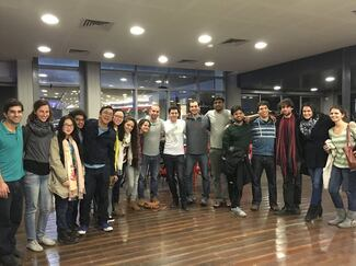 Technion-Cornell Institute Students Visit CS