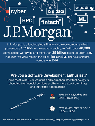 Recruitment Day by J.P. MORGAN