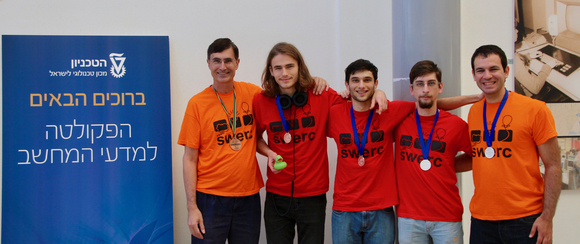 SILVER Medal to CS Team in SWERC 2017, photo 1