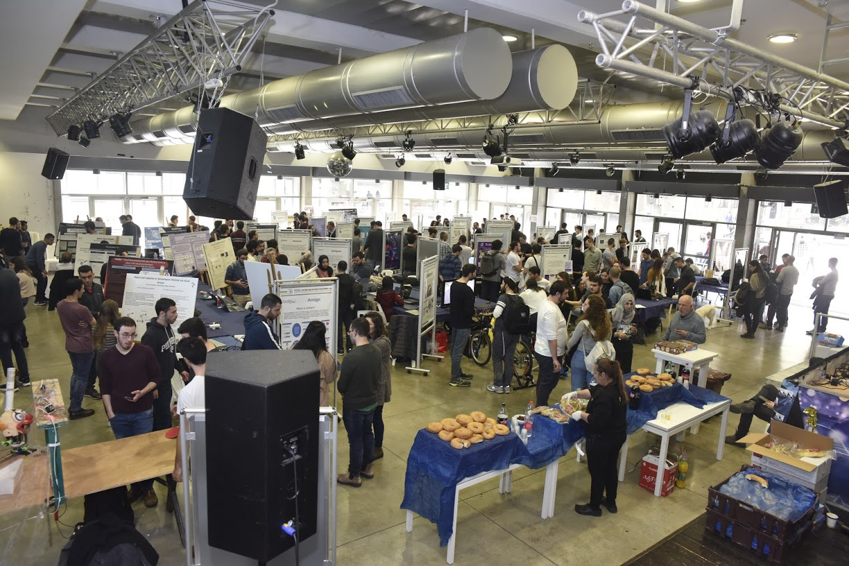 The 2019 Winter Project Fair in IoT, Android, Ransomware and