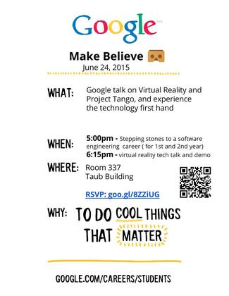 Google talk on Virtual Reality